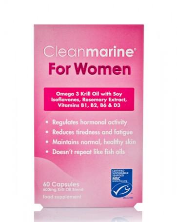 Cleanmarine® For Women - 60 Caps