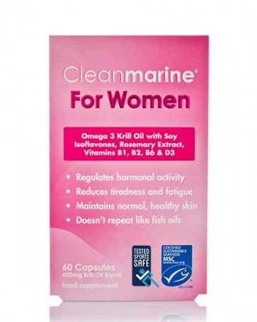 Cleanmarine® For Women - Sports Safe - 60 Caps