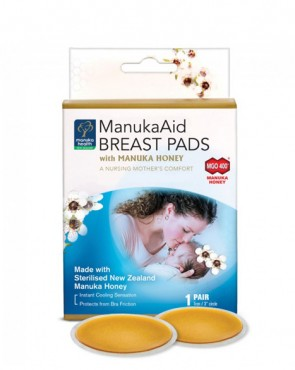 MGO™ 400+ ManukaAid™ Breast Pads with Manuka Honey (Pack of 2)