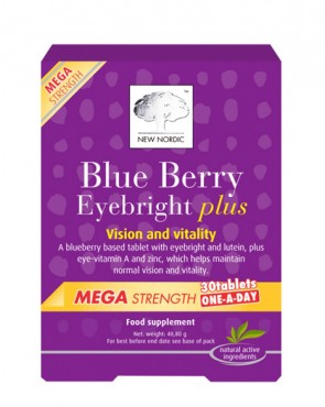 New Nordic™ Blue Berry Plus Mega Strength - 30 Tabs