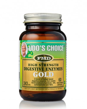 Udo's Choice® Digestive Enzymes Gold - 60 Caps