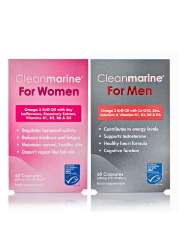 Cleanmarine® For Women & For Men Twinpack