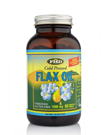 Flax Oil Certified Organic - 90 Caps
