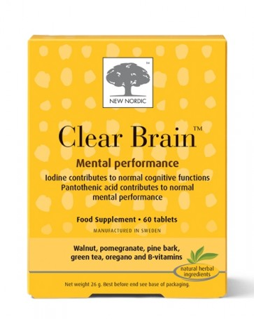 Clear Brain™ - Mental Performance - 60 Tablets