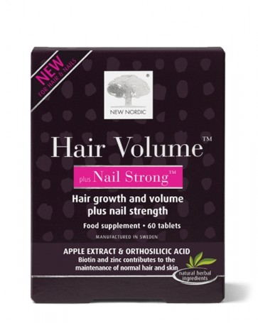 New Nordic™ Hair Volume™ plus Nail Strong 60 Tabs