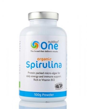 HALF PRICE - One Nutrition® Organic Spirulina - Powder (Exp. mid May 2019)