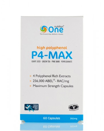 One Nutrition® P4-MAX - Sports Safe - 60 Caps