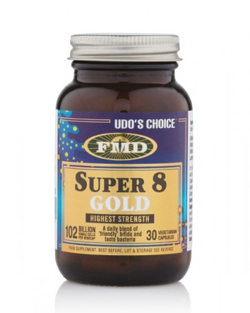 Udo's Choice® Super 8 Gold Microbiotic - 30 Caps