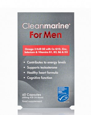 Cleanmarine® For Men - 60 Caps