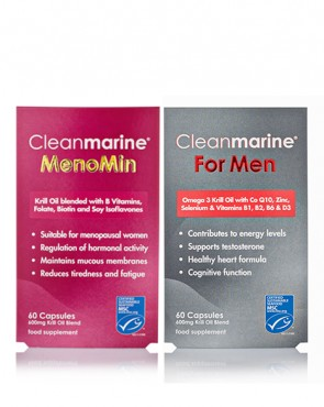 Cleanmarine® MenoMin & For Men Twinpack