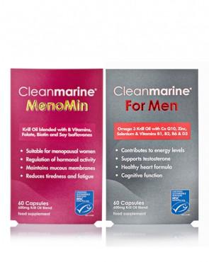 Cleanmarine® MenoMin & For Men Twinpack