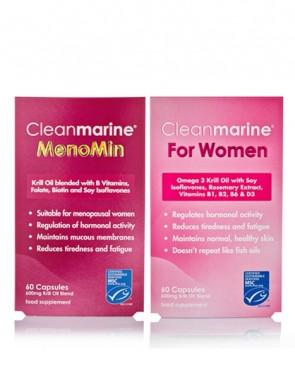 Cleanmarine® MenoMin & For Women Twinpack