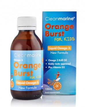 Cleanmarine® Orange Burst for Kids - 150ml