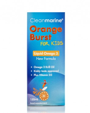 Cleanmarine® Orange Burst for Kids - 150ml