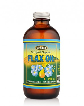 Flax Oil Certified Organic - 250ml