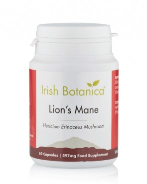 Irish Botanica® Lion's Mane Mushroom - 60 Caps