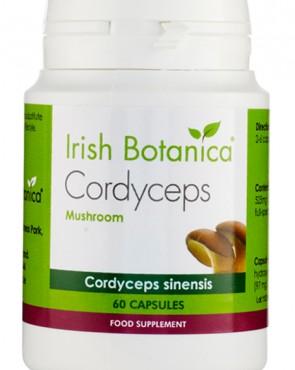 Irish Botanica® Cordyceps Mushroom - 60 Caps