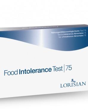 Lorisian Food Intolerance Programme - 75 (food types tested)