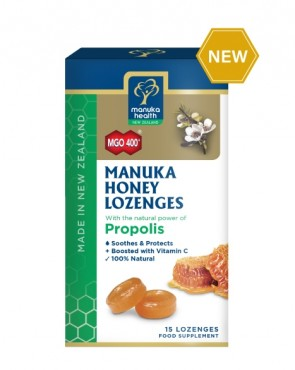 Manuka Honey Lozenges with PROPOLIS 4.3g  15s