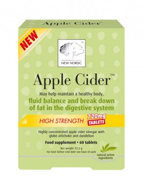 New Nordic™ Apple Cider High Strength 720mg - 60 Tabs