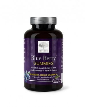 New Nordic™ Blue Berry Gummies 60's