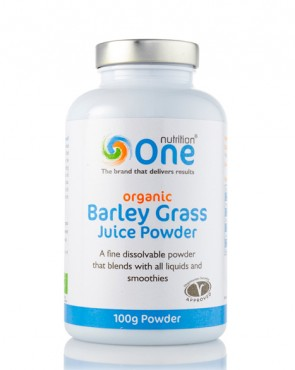 One Nutrition® Organic Barley Grass Juice - 100g Powder (Exp 5/11/2019)