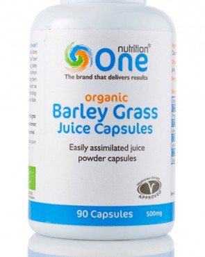 One Nutrition® Organic Barley Grass Juice - 90 Capsules