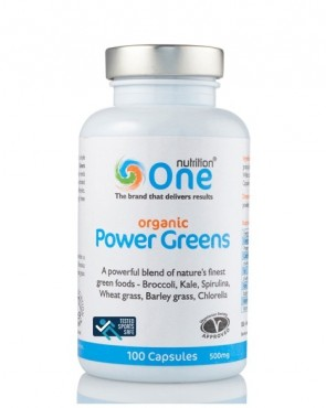 One Nutrition® Organic Power Greens - Capsules