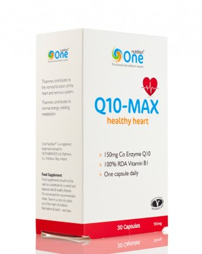 50% EXTRA FREE - One Nutrition® Q10-MAX - 30 Caps
