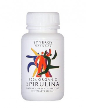 Synergy Organic Spirulina - Tablets