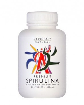 Synergy Premium Spirulina - Tablets