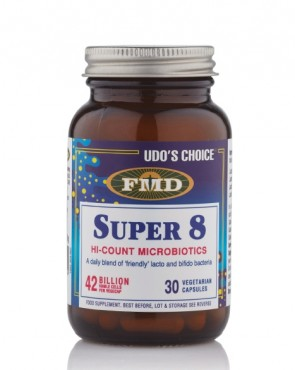 33% EXTRA FREE FILL - Udo's Choice® Super 8 Microbiotic