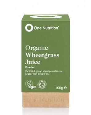 One Nutrition® Organic Wheatgrass Juice - 100g Powder