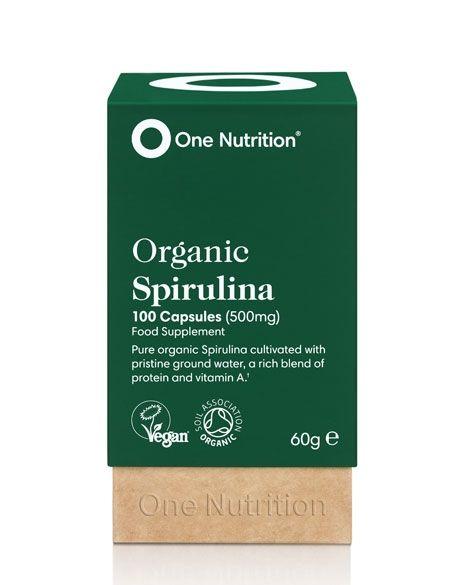 One Nutrition® Organic Spirulina - Capsules